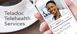 Telehealth consultations anytime, anywhere.